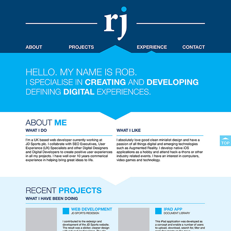Portfolio Web Design and Development
